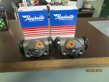 64-69  FORD FAIRLANE WITH 2-1/2 SHOE REAR WHEEL CYLINDERS PAIR L+R  RAYBESTOS