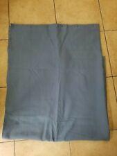 "Restoration Hardware ""Diamond Matelasse - Blue/Gray"" Fabric Shower Curtain"