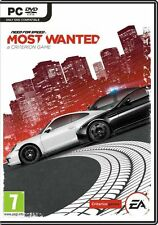 need for speed most wanted pc 2012 new sealed sent sameday