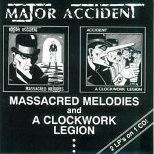 Major Accident - Masascred Melodies / A Clockwork Legion (NEW CD)