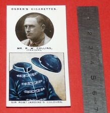 JOCKEY 1926 OGDEN'S CIGARETTES CARD TRAINERS OWNERS' COLOURS 8 R.W. COLLING