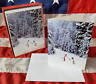 NEW Box Holiday 20 Christmas Cards & Envelopes Snowman Friends Graphique Gleiter