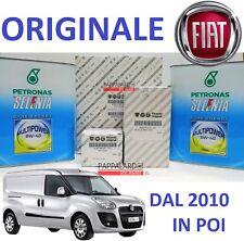 KIT TAGLIANDO FILTRI ORIGINALI +OLIO SELENIA FIAT DOBLO 1.4 NATURAL POWER METANO