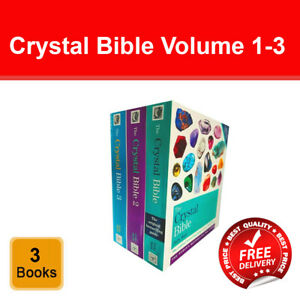 Judy Hall The Crystal Bible Volume 1-3 Books Set Collection Godsfield Bibles NEW