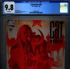 PRIMO:  CATWOMAN #67 NM/MT 9.8 CGC Adam HUGHES AH! HIGHEST Batman DC comics
