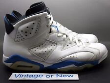 Nike Air Jordan VI 6 Sport Blue Retro 2014 sz 11
