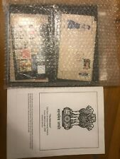 Old India Collection ~500 Stamps ~75 Covers + Illustrated Album Pages 1862-1991