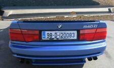 BMW e31 spoiler diffuser rear bumper M8 m-tech