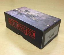 2014 Topps Star Wars Return Jedi 3D Widevision 44-card base set + 4-patch set 48