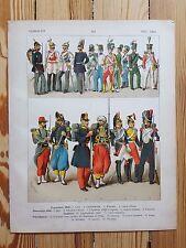 Military Uniforms & Costume - 18th c - Fashion History, Original Print, Art