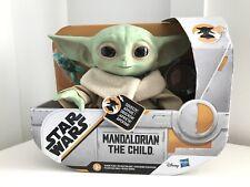 "Star Wars Mandalorian The Child 7.5"" Talking Plush Figure NIB Hasbro 2020"