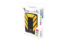 "1TB 2,5"" Portable Hard Disk HD710 ADATA DashDrive External Hard Drive Yellow"