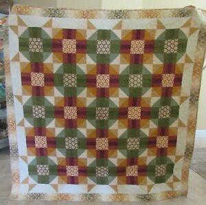 Autumn Crossroads Quilt - handmade