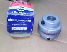CONGRESS FLEXIBLE COUPLING (MOTOR) CAT. NO. FC SIZE 30 BORE 1