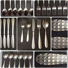 30 pezzi Set di posate d'oro argento acciaio inox lucido elegante e alla moda