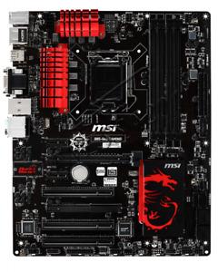 1PCS MSI B85-G43 GAMING Intel B85 Motherboard LGA 1150 DDR3