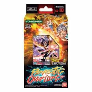 DRAGON BALL Z SUPER CARD GAME STARTER DECK BRAND NEW ~ SD10 PARASITIC OVERLORD