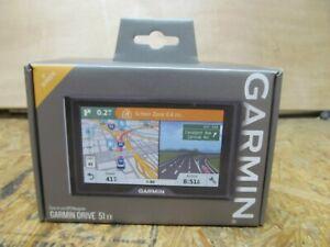 "NEW --- Garmin - Drive 51 EX 5"" Navigation GPS       (lot 15826)"