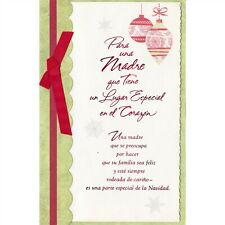AG Spanish Christmas Card: Mother...Thank You For Making Our Home Filled w/ Love