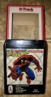 8 TRACK TAPE THE AMAZING SPIDER-MAN A ROCKOMIC FROM BEYOND THE GRAVE BUDDAH 1972