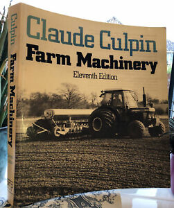 Tractor Machinery Book 80s Book By Culpin Shows Massey Ferguson Ford 450pages!!!