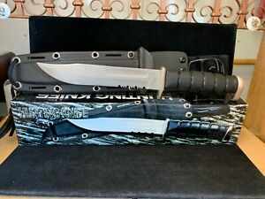 Stainless Steel Kabar Style Combat Survival Hunting Knife.