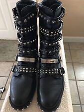 143e30ecb554 John Richmond Ladies Italian Boots Authentic New Size 36
