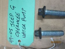 JEEP GRAND CHEROKEE WATER HEATER VISCOUS WATER PUMP  BOLTS ONLY FREE POSTAGE