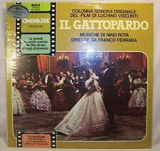 Nino Rota IL GATTOPARDO Italian Film Sound Track Mint/Sealed LP Stereo