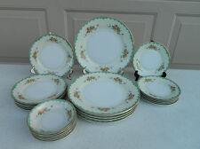 24 Piece Set Noritake Luverne Dinnerware