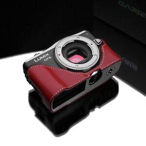 GARIZ Genuine Leather Case Panasonic GF6 Red XS-CHGF6R