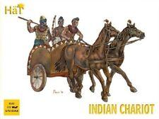 HaT 8143 1/72 Plastic Indian Chariots (3 per box) + Riders