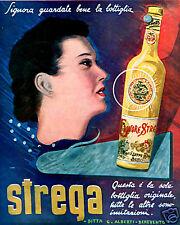 G.Alberti-Benevento-pubblicità STREGA-liquore-APERITIVO-VINTAGE-amaro-1939.
