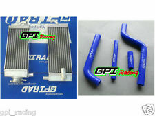 Aluminum radiator + hose YAMAHA YZ125  YZ 125 96-01 97 98 99 00 2001 2000 1999