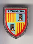 RARE PINS PIN'S .. TOURISME BLASON ARM TOWER LATOUR DE CAROL 66 ~BU