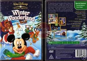WINTER WONDERLAND disney Mickey Mouse Bambi NEW DVD R4 (Region 4 Australia)