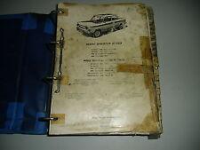 Catalogue de Pièces de Rechange et Liste NSU Prinz 1000 L 04/1964