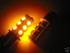 2 LAMPADE FRECCE LED SMD BA15S 1156 PY21W ARANCIONE PA