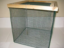 "2 ft. BEST Floating Live Fish Well Basket with 1/2"" wire (Keep Fish Alive) Cage"