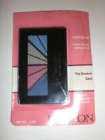 REVLON THE SHADOW CARD BLUE/PURPLISH/GRAY/SKY B .10oz