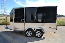3.6m LONG  ALUMINUM ENCLOSED VAN TRAILER- FINANCE AVAILABLE $70 p/week 4 years