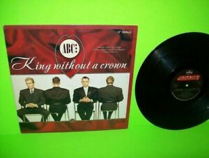 """ABC King Without A Crown Vinyl 12"""" Single 1987 Synth-Pop Translucent Promo"""