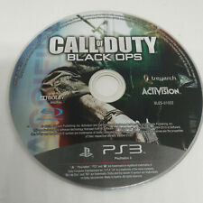 CALL OF DUTY BLACK OPS  PLAYSTATION 3 / PS3  PAL SOLO DISCO