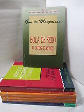 BOLA DE SEBO Y OTROS CUENTOS - MAUPASSANT Spanish Literature Libros EN Espanol