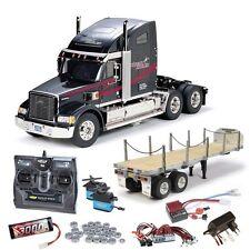 Tamiya Truck Knight Hauler komplett + Flachbett, LED, Kugellager #56314SETTR