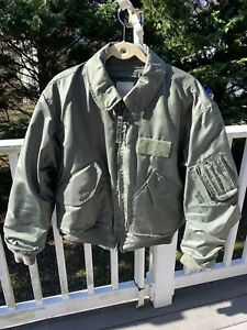 CWU-45/P Cold Weather Flyers Bombers Jacket  Military Large 42-44 Green Isratex