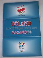 Orig.Team Guide  Olympische W.Spiele NAGANO 1998 - Team POLEN / alle Sportler