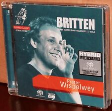 CHANNEL CLASSICS SACD: Britten Three Suites for Violoncello Solo, WISPELWEY 2001