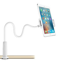 360º Gooseneck Lazy Bed Desk Mount Stand Holder For iPad Kindle Android Tablet