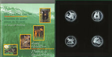 1996 Discovering Nature 50-Cents Silver Coin Set Little Wild Ones